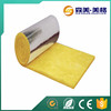Fire resistant industrial felt thermal insulation material glass wool blankets with heat resist aluminum foil