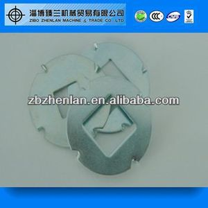 Zinc Plated Steel Square Hole Carriage Bolt Washer