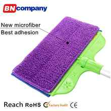 Easy Cleaning Hand Pole and Microfiber Mop pads 2 pcs Plastic Broom