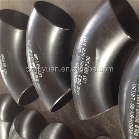 "cangzhou pipe fitting-1-1/2"" elbow 90 LONG RADIUS sch40"