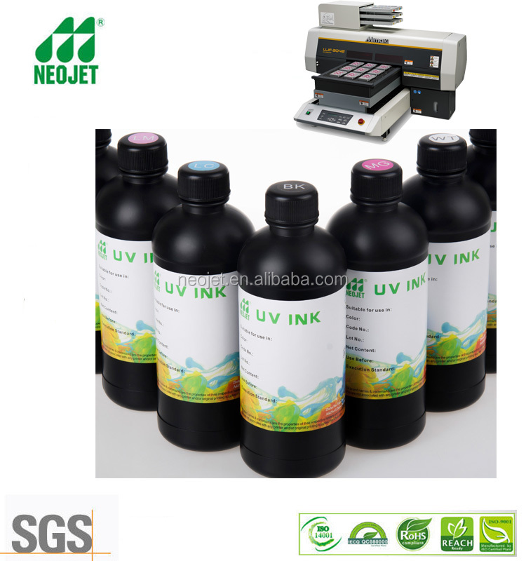 free samples provided high precision curing uv ink for mimaki ujf 3042 uv lamp led desktop printer case phone 3d printing ink