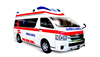2016 Toyota hiace double high roof ICU ambulance ( japan technology)