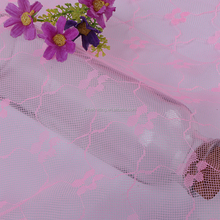 Polyester Jacquard Cheap Baby Pink Tulle Australia