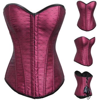 88351d11f04fb Для девочек без чашки сексуальные корсеты сексуальный красный корсет Бюстье  наряды