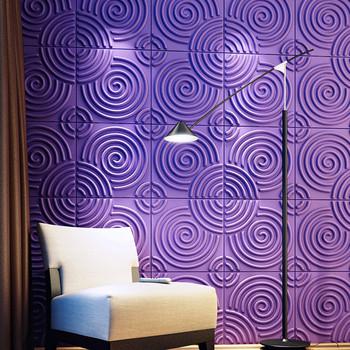 groen gestreepte moderne minimalistische high end drie dimensionale non woven slaapkamer woonkamer decor
