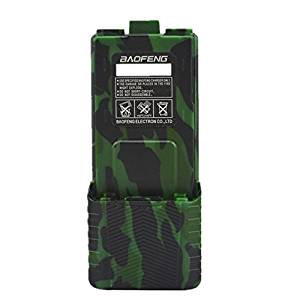 Original Baofeng Extended High Capacity Battery (3800mAh) For DM-5R UV-5R Plus UV-5RE BF-F8HP UV-5RTP Series Two Way Radio (Camouflage)