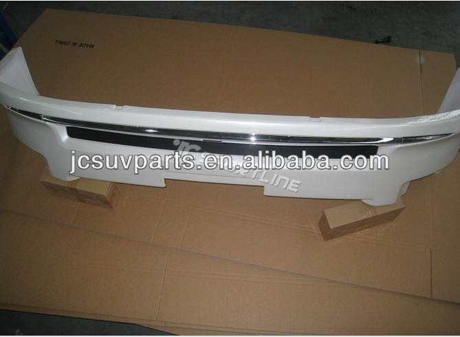 PP gray primer 2012 up LC200 front bumper lip for Toyota Land Cruiser 200 front spoiler lip