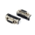 Header right angle mount SCSI DB20 female connector with latch bracket