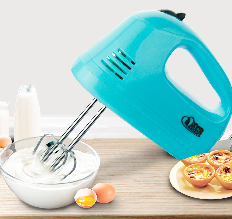 7 Speed Mini Electric Hand Held Mixer Egg Beater Food Mixer Hand ...