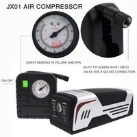 2017 New high quality heavy duty 12/24V battery car jump starter with air compressor