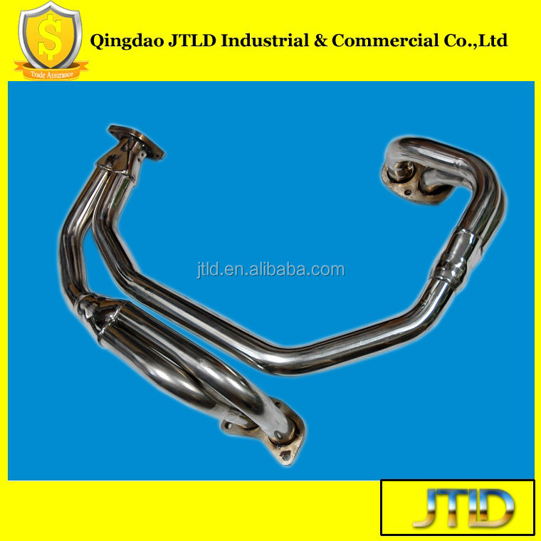 Stainless Racing Header Manifold Exhaust For 97-05 S.u.b.a.r.u Impreza 2.5 RS EJ25 NA (JTEH-062)