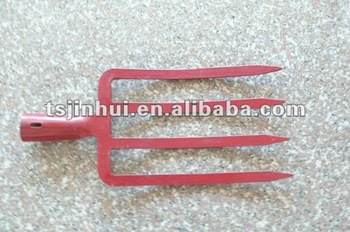 Red Garden Steel Fork F065-3