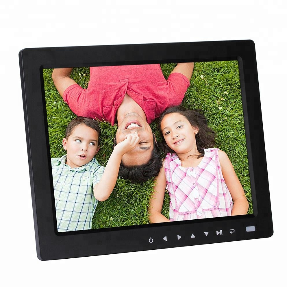 10.4 inch new style with touch key digital photo frame