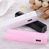 Factory price 2600mah power bank with led flashlight
