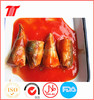 Natural Flavor Canned Mackerel in Tomato Sauce