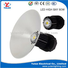 industrial 80w led high bay light ip66 meanwell driver 120 degree
