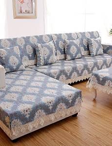 Get Quotations · ZQ European Classical Sofa Cover High Grade Chenille Fabric  Sofa Towel Four Seasons Sofa Cushion