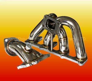 T25/T28 Stainless Steel Turbo Exhaust Manifold for OPEL C20ZE 8V