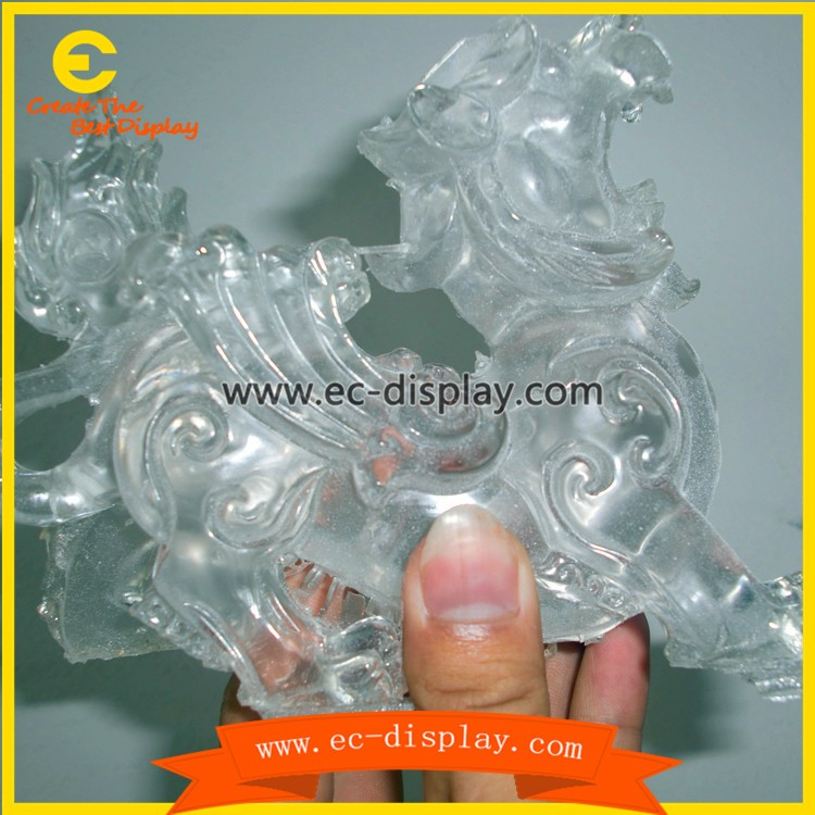 clear resin figure manufacturers