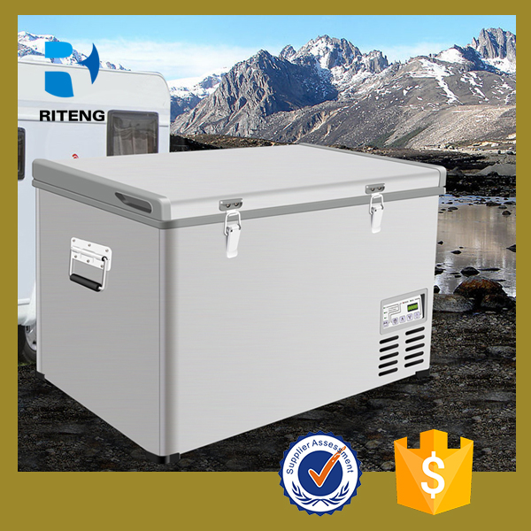 good sell outdoor used car fridge 12v AC DC