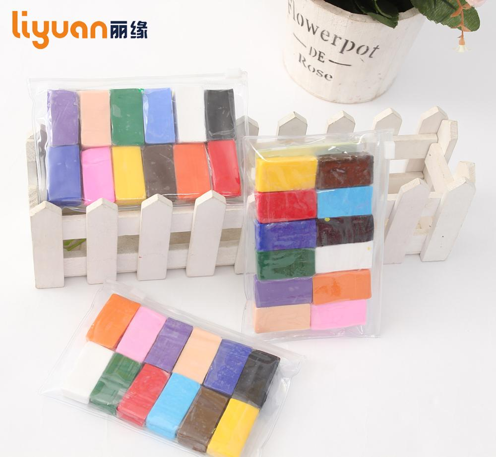 12 colors Children's DIY toys oven bake polymer clay