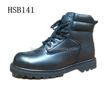 Top level quality work time protective gear Goodyear welt safety boots in 6 inch
