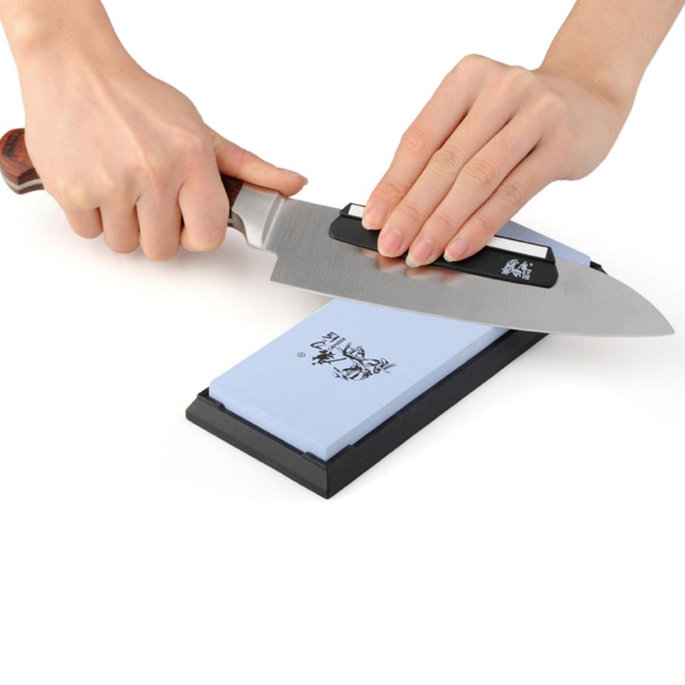 New Kitchen Knives Sharpeners TAIDEA 600 Grit Combination White Corundum  Whetstone Knife Sharpening Stone Scissors Grinding Tool