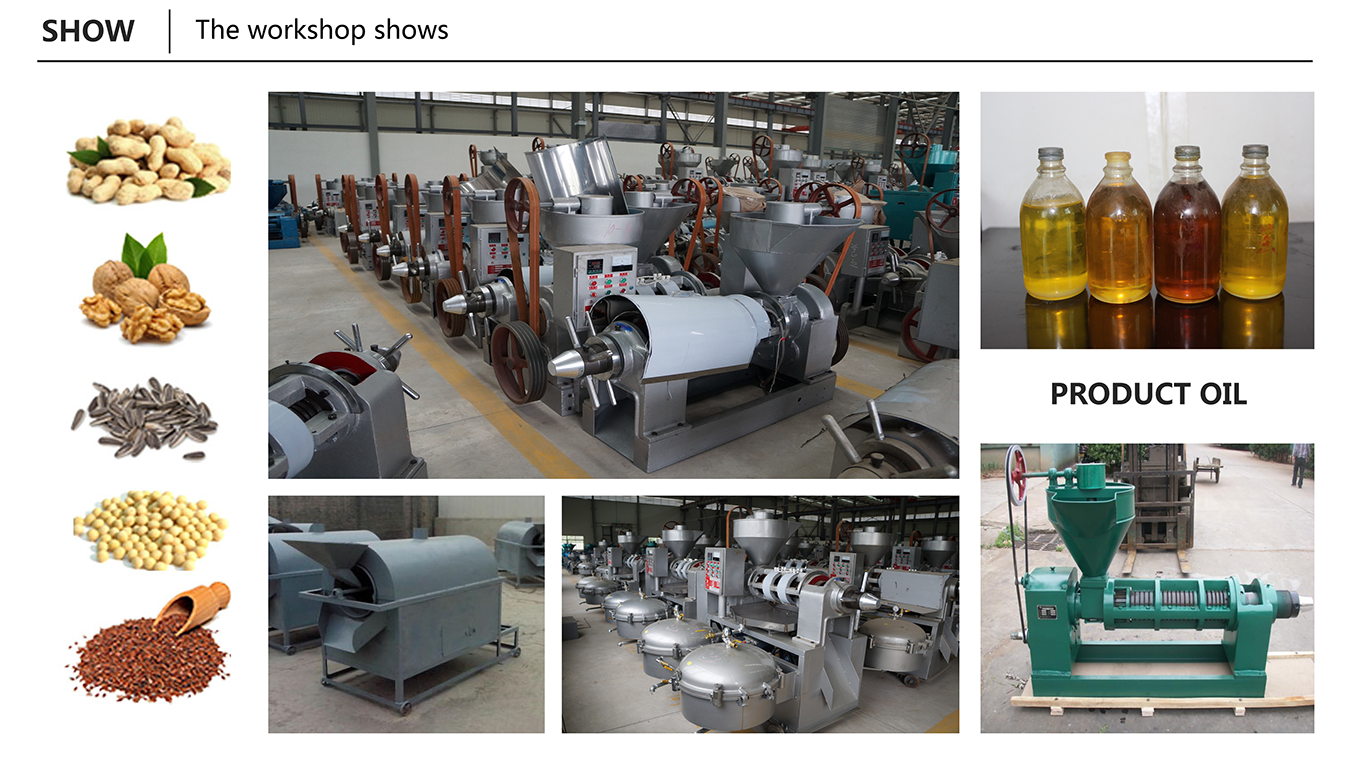 Factory direct sale expeller oil pressing machine cotton for