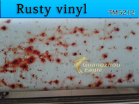Custom car wrap/Rusty VINYL DESIGN vehicle wraps/vehicle graphics printing manufacturer