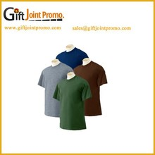 Custom Promotional Logo Printed 100% Cotton T- Shirt