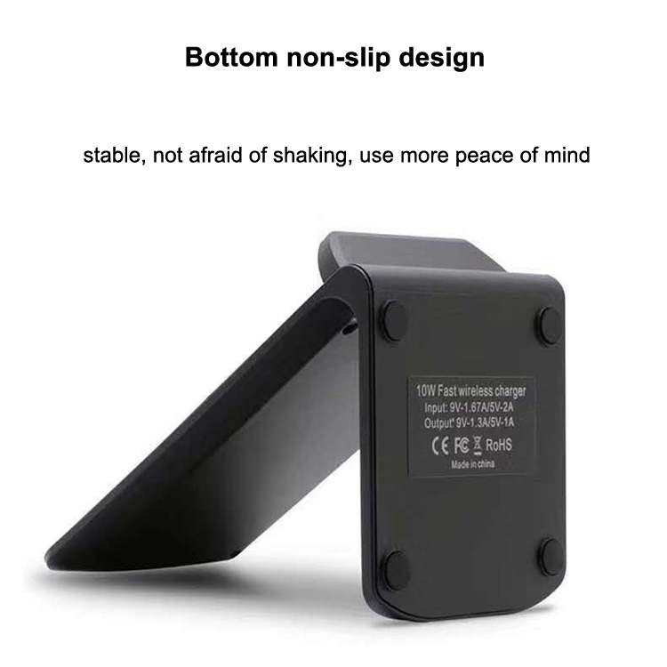 10W Stand wireless charger