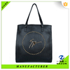 online shopping india black printing logo vintage leather tote handbag travel bag for lady