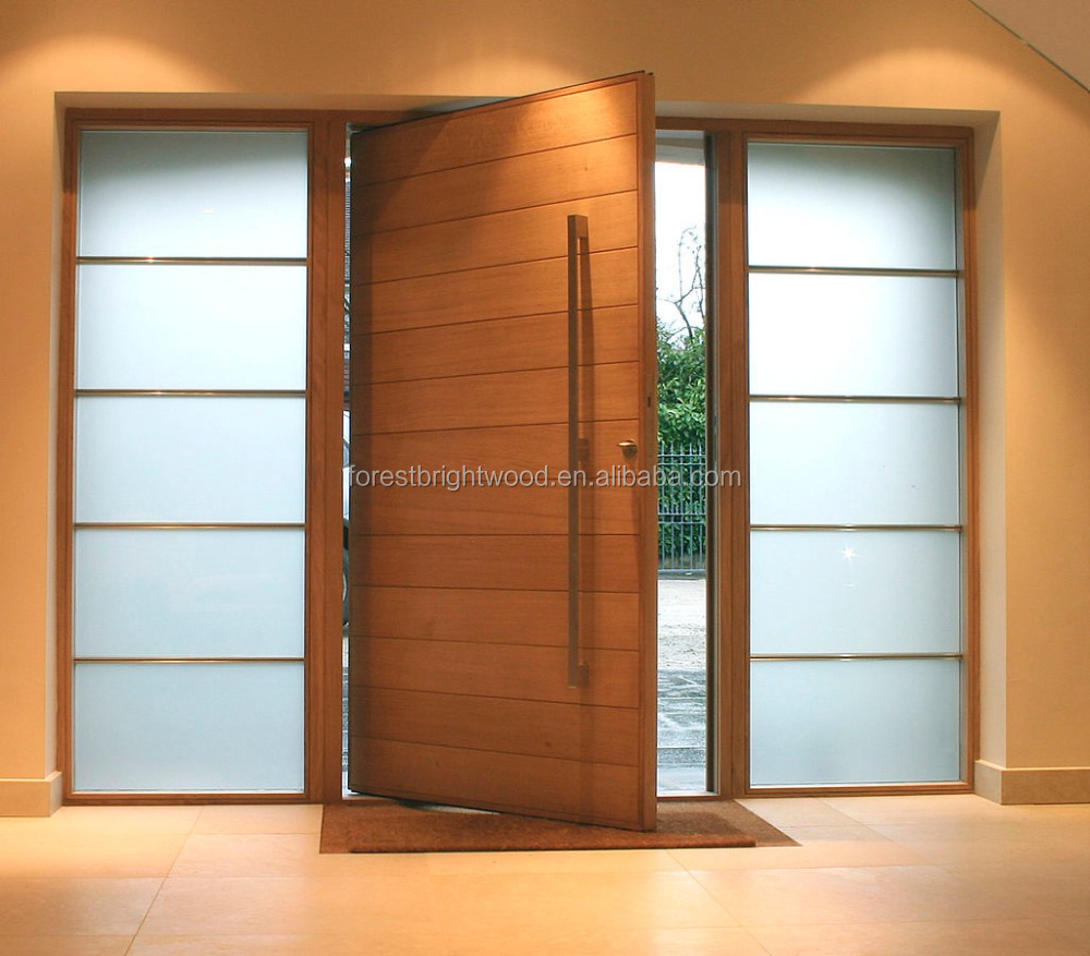 Teakwood door flat teak wood main door models designs for Door manufacturers