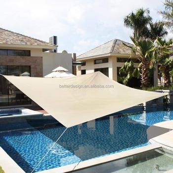 triangle square outdoor waterproof canvas garden sun shade sail cloth - Sun Shade Sail