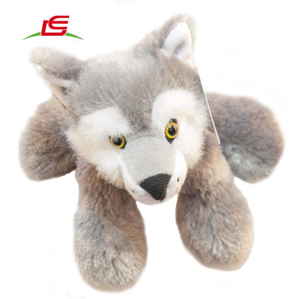 realistic fur fox lifelike wolf amp raccoon stuffed animal - 1000×1000