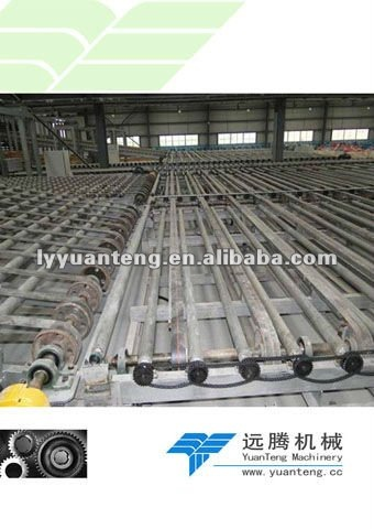 Machinery building gypsum board with full automation
