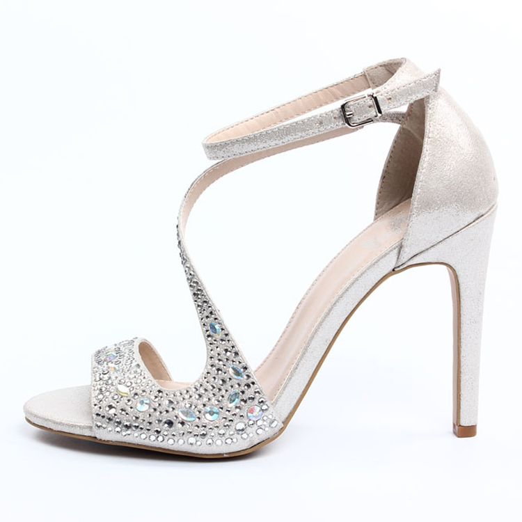 ad73685f9f 2015 fashion elegant girls silver sandals silver sandal silver high heel  sandals
