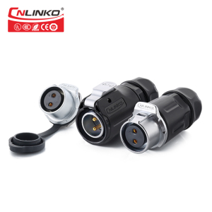 Waterproof Mini Camera Wide Angle LP-20-C02PE-01-001 2 Pin Solar Connector