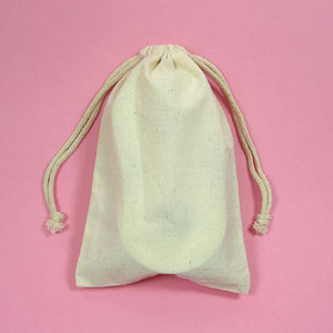 Promotional cotton Linen drawstring bags , Linen pouch Bag for rice packing
