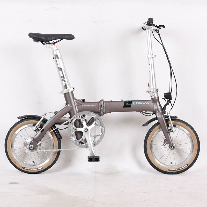 Good performance durable lightweight foldable bike with 7-speed gears