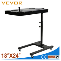 "VEVOR 18"" x 24"" T-Shirt Silkscreen Printing Flash Dryer with Adjustable Stand"