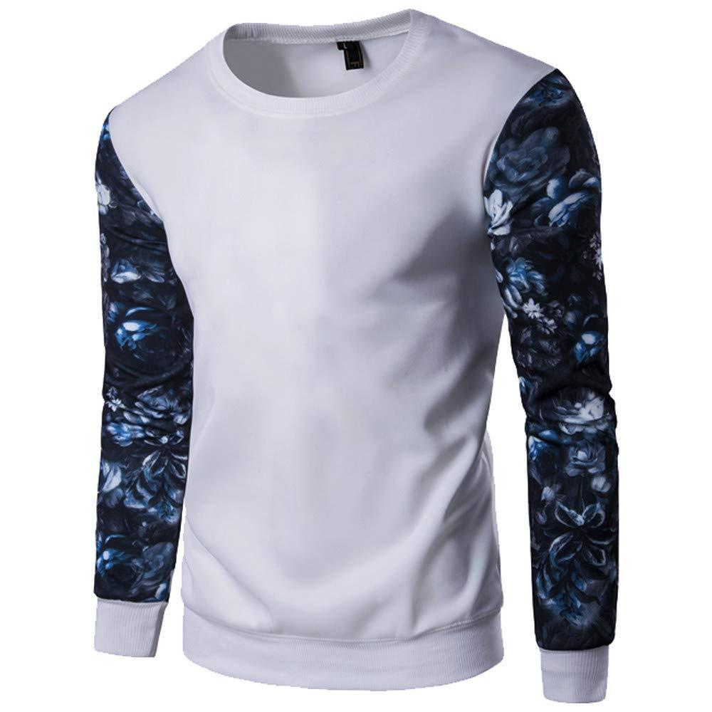 PHOTNO Mens Tee Shirts,Mens Graphic Tees Long Sleeve Shirts Slim Fit Pullover Tops Raglan T Shirts for Men