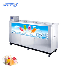 NEWEEK 4 molds flavored popsicle forming stick ice candy making machine