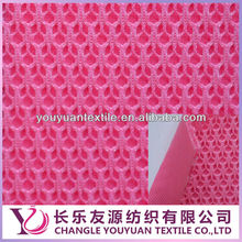 polyester 3D air spacer shoes mesh fabric china manufacturer