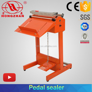 SF400C Pedal Nylon Sealing And Cutting Machine
