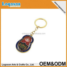 2015 novelty tourist souvenir gift custom picture russia doll bottle opener keyring
