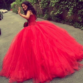 Red Wedding Gowns