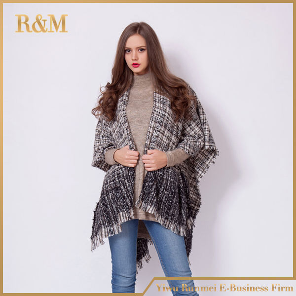 Winter Geometric Woman Shawl Scarf Luxury Brand High Quality Lady Soft Wrap
