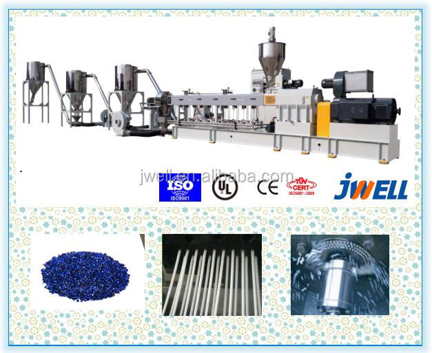 JWELL - hot melt adesive underwater pelletizer production line