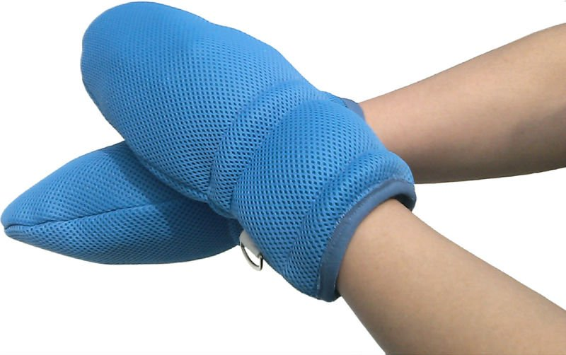 Elder Care Hand Control Mitts (L)
